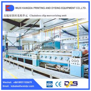 Continuous Clip Chainless Mercerizing Machine