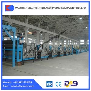 Open-width Knitted Fabric Mercerizing Machine